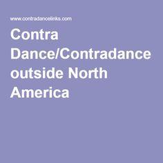 Contra Dance/Contradance outside North America