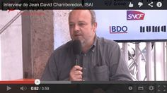 [Interview Web2Day] Jean-David Chamboredon, ISAI : les 4 ans, France Digitale, French Tech, French Touch, France Digitale Day