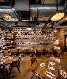 Restaurant Interiors, Restaurant Design, Barcelona Wine Bar, Bar Designs, Cool Bars, Cardiff, Philadelphia, Tapas, Centre
