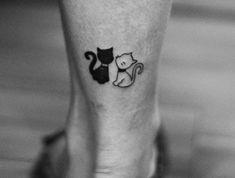 80 tolle Katzen Tattoo Ideen