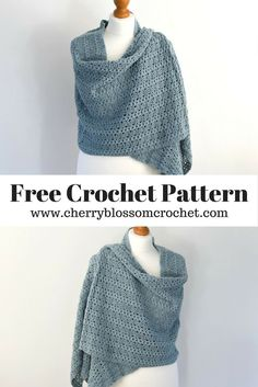 Free Crochet Shawl Pattern - Naya Shawl