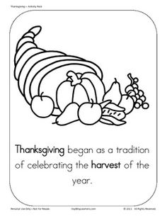 Ages 3 - 6 (Preschool, Pre-Kinder and Kindergarten)Thanksgiving PostersAddition,Counting,Number Recognition, Letter Tracing, Begi...