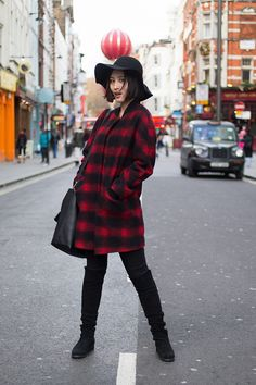 Real-life street style, London