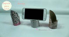Manualidades Herme: Soporte para móvil reciclado