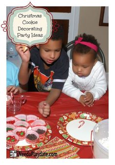6 Secrets to a Successful Christmas Cookie Decorating Party