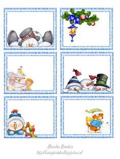 il mio angolo creativo: Etichette per Natale 4 Christmas Gift Tags Printable, Christmas Labels, Christmas Templates, Diy Christmas Cards, Christmas Clipart, Christmas Printables, Christmas Crafts, Clipart Noel, Christmas Topper