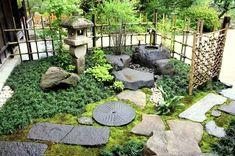 Japanese Garden Nice home outdoor design Ideas Japanese Garden Style, Japanese Landscape, Japanese Gardens, Zen Garden Design, Japan Garden, Meditation Garden, Pinterest Garden, Shade Garden, Garden Pond