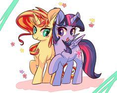 Sunlight by Phyllismi on DeviantArt My Little Pony List, My Lil Pony, My Little Pony Friendship, Mlp Twilight, Princess Twilight Sparkle, Tiny Horses, Furry Wolf, Mlp Fan Art, My Little Pony Drawing