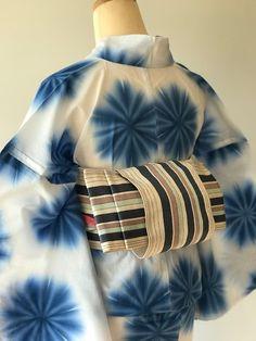 Sash Belts, Japanese Design, Yukata, Kimono Fashion, Summer Wear, Shibori, Geisha, Womens Fashion, How To Wear