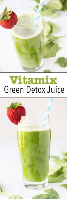 Vitamix Green Juice is crisp, healthy & refreshing. Great, affordable & easy way to get in your greens. Dairy free, Gluten Free, vegan, vegetarian, & paleo.