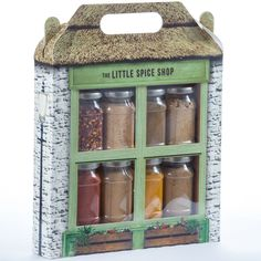Little Shop Fruit, Herb and Tea and Coffee Shop Gift Sets
