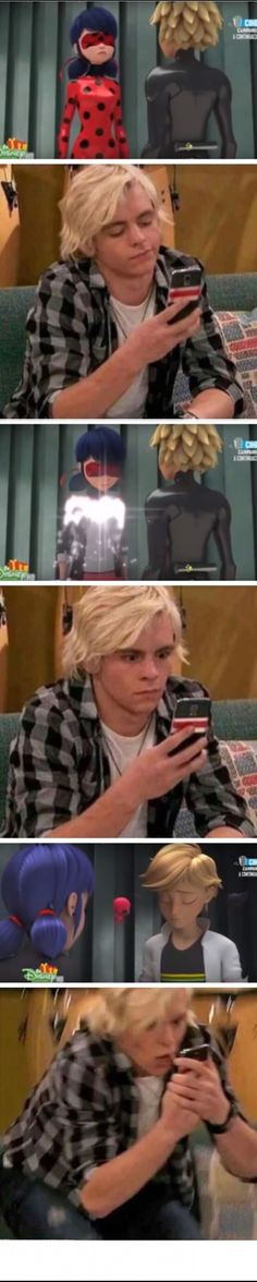 Can we talk about how Austin Moon looks a lot like Chat Noir