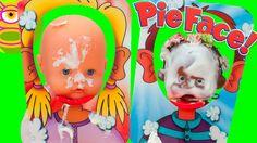 Cara Splash desafío con Luci y Martina! - Pie Face Showdown - Juego del ...