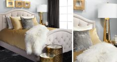 bed Inspired by this  look on @ZGallerie  from Z Gallerie