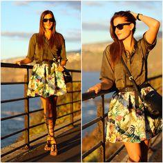 Get this look: http://lb.nu/look/7750234  More looks by Marianela Yanes: http://lb.nu/marilynscloset  Items in this look:  Walktrendy Blouse, Choies Skirt, Mango Sandals, Mango Bag   #artistic #casual #street http://marilynsclosetblog.blogspot.com.es/2015/09/tropical-sunset.html