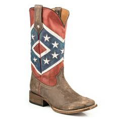 Rebel Flag Square Toe…GOTTA HAVE 'EM!!!