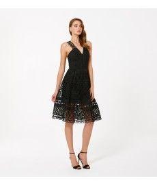 Lara Lace Prom dress back image