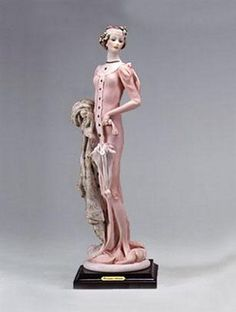 Giuseppe Armani Lady With Sunshade-Retired  958C $598.00. #GiuseppeArmani #Figurine.