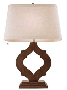 Couture Lamps - rubberwood