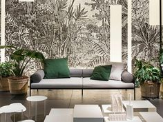 Living Divani: Relaxed Atmosphere Between Dream and Reality Living Divani, Living Room, Lanai Porch, Outside Furniture, Sofa, Couch, Retail Shop, Photo Wallpaper, Branding Design