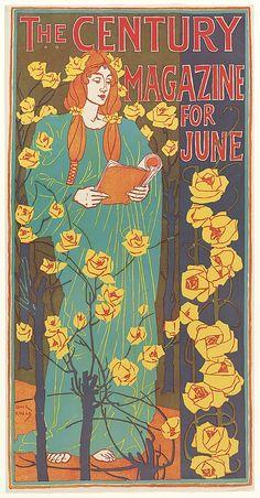 THE CENTURY / MAGAZINE / FOR / JUNE, Louis John Rhead, 1896
