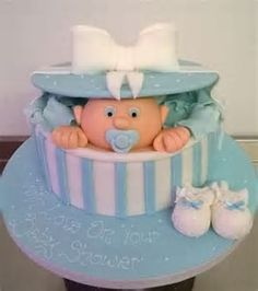 Bildergebnis für baby shower cakes for girls ruffles
