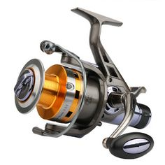 Goture Spinning Fishing Reel KM&KS Series Double Drag System Metal Spool Long Casting Carp Fishing Wheel For Fishing 5.2:1 (32420652295)  SEE MORE  #SuperDeals