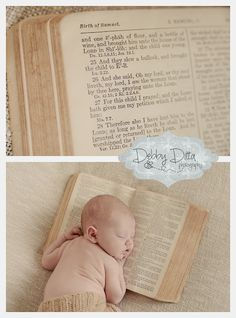 The family Bible. For this child I have prayed. Debby Ditta Photography: Cooper K at 13 days old . session, child, children, debbie, ditta, tomball, spring, conroe, the woodlands, katy, sugarland, the heights, cypress, houston, hockley, montgomery, magnolia, boutique, custom sessions, family, newborn, baby, infant, baby, boy, Photographer Debby Ditta Photography. Newborn Session