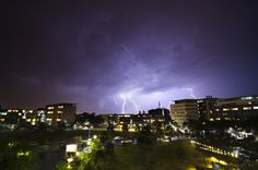 Lightning over Zetland 2 by Tristan Brittaine on 500px