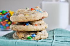 """""""This is how you make gooey, chewy, massive rainbow cookies that make everyone in life love your guts."""""""