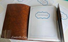 Lewisville Love: Emergency & Life Binder