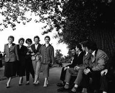 Teddy Boys & Girls, Clapham Common 1950s