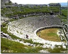 Olympia, Greece. They allow you to walk all the way down to the stage and imagine what the orators saw.