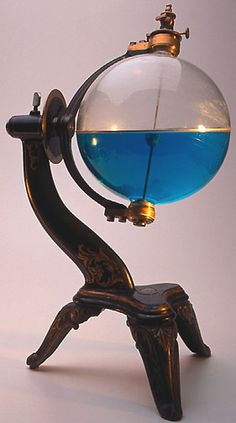 GRAND SOHLBERG GLASS CONSTELLATION GLOBE             From the Gemmary