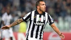 Juventus vs. Malmo: Carlos Tevez será la carta ofensiva de los italianos. Noviembre 25, 2014.