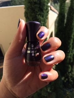 Love this Purple Metallic colour from Essence