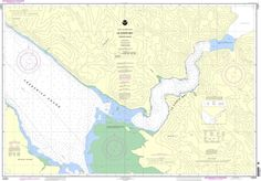 NOAA Nautical Chart 17377: Le Conte Bay