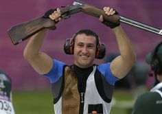 Men's Trap Finals - Shooting Slideshows | NBC Olympics Nbc Olympics, Famous Sports, Olympic Gold Medals, Shooting Sports, Sports Women, Croatia, Finals, Shotgun, Pride