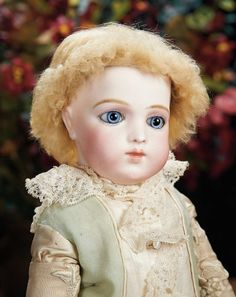 The Lifelong Collection of Berta Leon Hackney: 546 Rare French Bisque Bebe Modele by Leon Casimir Bru