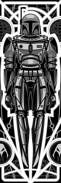 Boba Fett Robot by ron-guyatt.deviantart.com on @DeviantArt