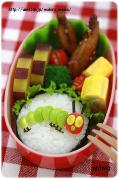 The very hungry caterpillar onigiri