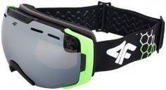 Gogle narciarskie męskie GGM203 - czarny