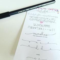 """Leider habe ich keine besonders schöne Handschrift  deswegen habe ich mir mal was als """"Vorlage """" ausgedruckt  und habe mir heute diesen Stift gekauft mal sehen ob ich damit was schönes schreiben kann  #josiesmärzchallenge Tag 23 #schrift #pen #pencil #lettering #filofax #filofaxerei #filofaxgermany #bestoftheday #instagood by filo.filu"""
