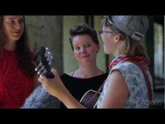 """The insanely angelic harmonies of Vermont based trio, Mountain Man (Molly Erin Sarle, Alexandra Sauser-Monning, and Amelia Randall Meath), singing """"Sewee Sewee""""."""