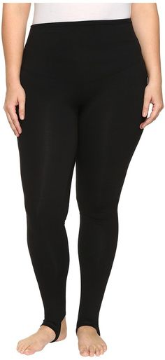 Yummie by Heather Thomson Plus Size Compact Cotton Control Madden Stirrup Leggings >>> Details can be found by clicking on the image.