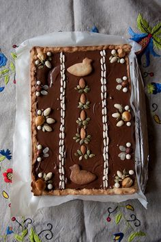Mazurek- a traditional Polish Easter pie