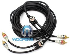 MONSTER CABLE Car Audio Interconnect Cable 5 m pair  1640 ft 2 Channel IMXLN 2C5M ** See this great product.