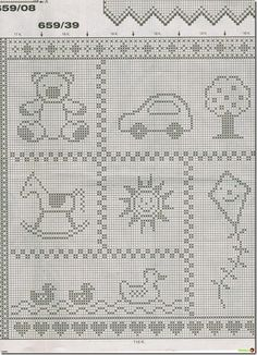 New Ideas Baby Blanket Print Knitting Patterns Knitting Baby – Igaraci Baby Knitting Patterns, Knitting Charts, Crochet Blanket Patterns, Baby Blanket Crochet, Baby Patterns, Crochet Pattern, Crochet Baby, Bear Blanket, Knitting Stitches