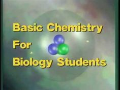 Detailed animation of chemical models introduces biology students to chemical concepts that are important to understanding life processes. Defines and illustrates elements, atoms, subatomic particles, molecules, ions and isotopes. Explores ionic and covalent bonds and explains the biological significance. Program turns to an exploration of some important organic molecules-—carbohydrates, lipids, proteins and nucleic acids.