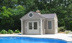 Enjoy everything a shed, cabana, gazebo or backyard guest house can offer — without the mess. Limestone Trail structures are made-to-order and can be installed in a single day. Backyard Guest Houses, Pool Houses, Cabana, Gazebo, Trail, Shed, Deck, Outdoor Structures, Home Decor